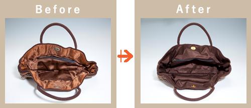 鞄のビフォアアフター